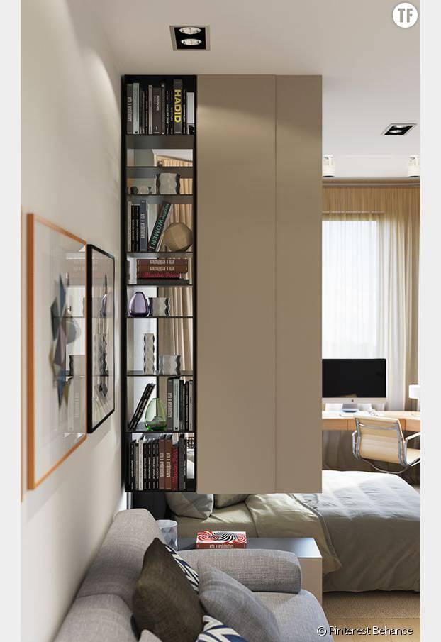 8 astuces magiques pour agrandir un petit appartement terrafemina. Black Bedroom Furniture Sets. Home Design Ideas