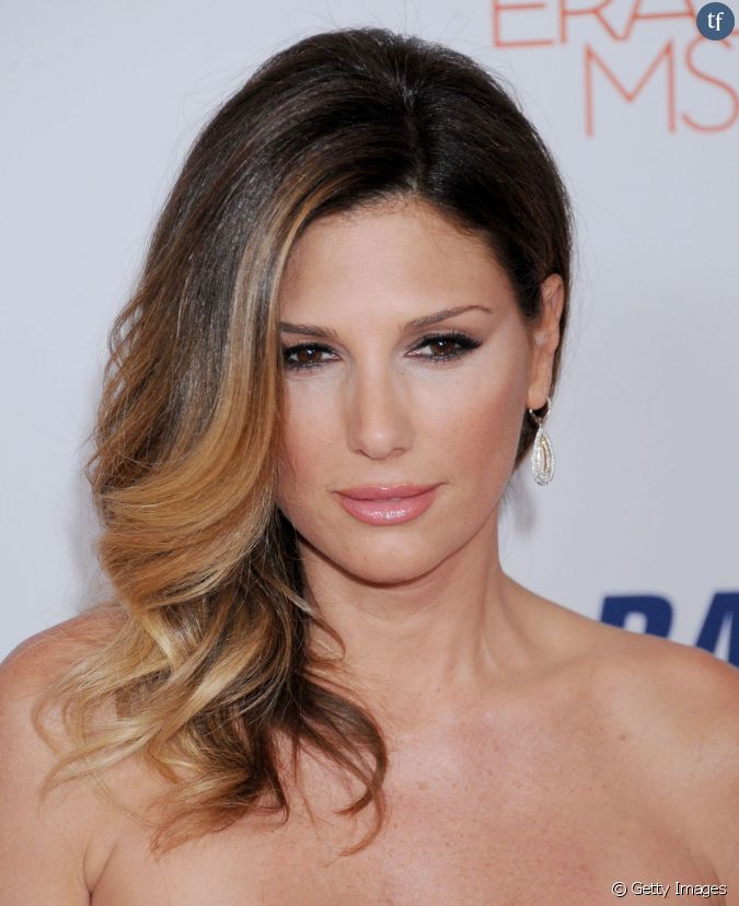 l 39 actrice daisy fuentes et son balayage tr s r ussi. Black Bedroom Furniture Sets. Home Design Ideas