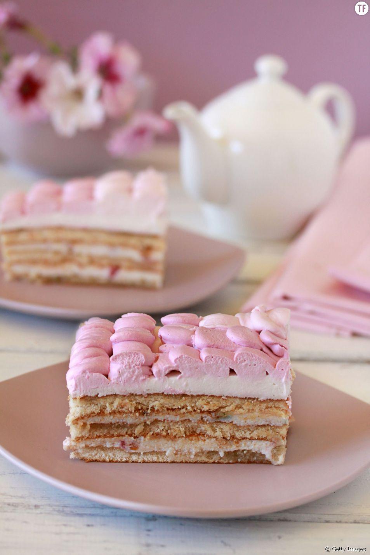 Un tiramisu rose pour le dessert ?