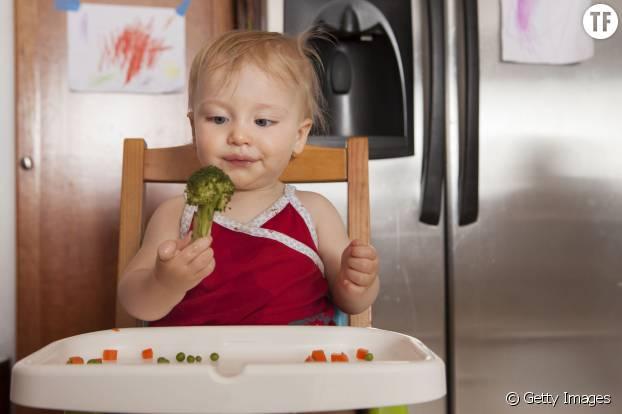 Un bébé végétarien