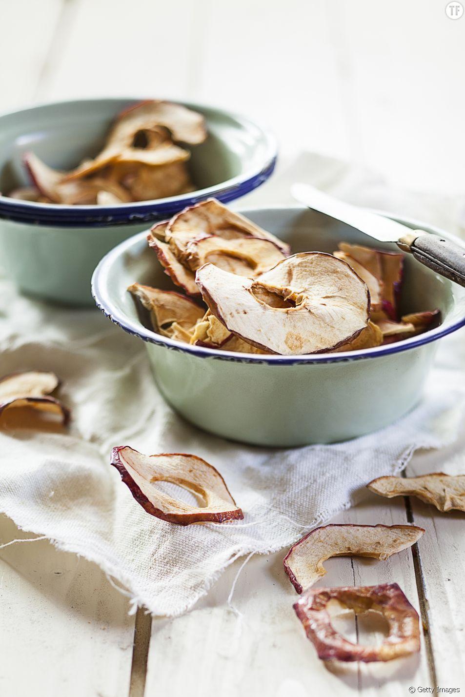 La recette saine des chips de pommes et de bananes