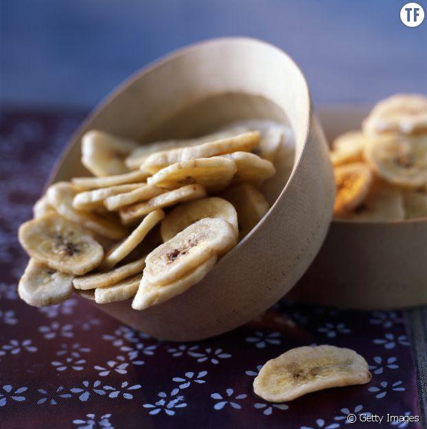 Recette des chips à la banane