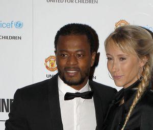 Patrice Evra et sa femme Sandra
