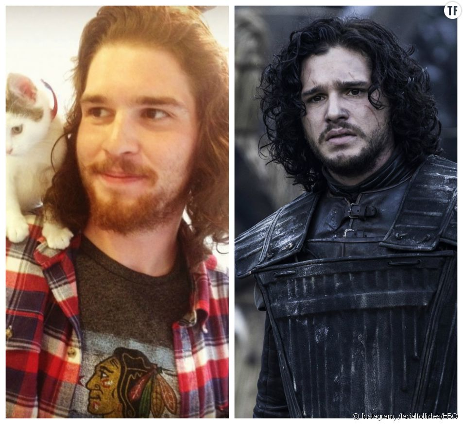 Sa ressemblance avec Jon Snow fait de lui la nouvelle star du web