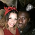 Blaise Matuidi et sa compagne Isabelle