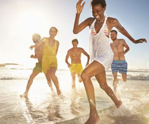 Allez à la plage, c'est bon pour la santé !