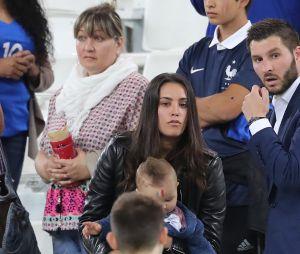 André-Pierre Gignac : sa compagne et ses enfants dans les tribunes pour le soutenir (photos)