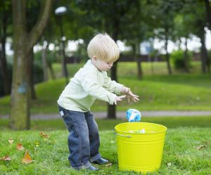 La poubelle magique, la technique étonnante pour calmer un enfant