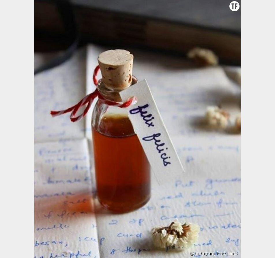 Cette blogueuse nous offre la recette magique du cocktail Felix Felicis, tiré de la saga littéraire Harry Potter.
