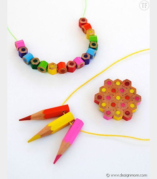 Collier crayons