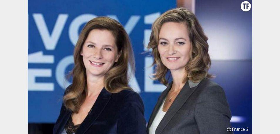 Guilaine Chenu et Françoise Joly présentent leur dernier numéro d'Envoyé spécial sur France 2