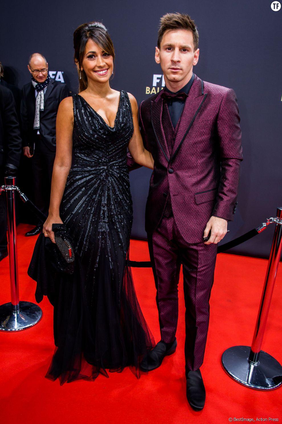 Lionel Messi et sa compagne Antonella Roccuzzo