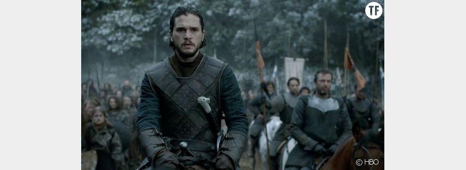 Jon Snow (Kit Harington) dans Game of Thrones saison 6