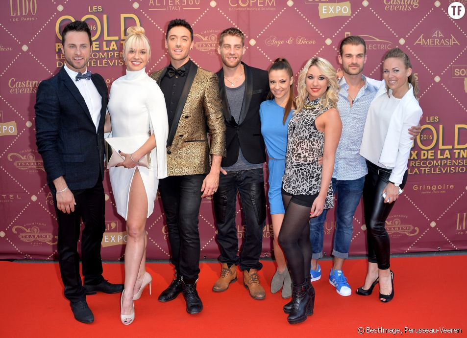 L'équipe de danse avec les stars