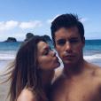 Caroline Receveur et son compagnon Valentin Lucas
