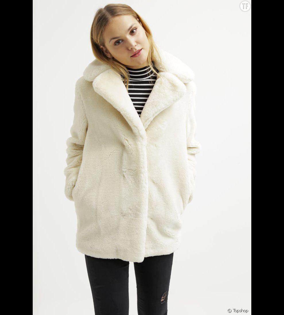 acheter en ligne 0145b 2050f Fausse fourrure : 10 manteaux chic (et pas chers) pour ...