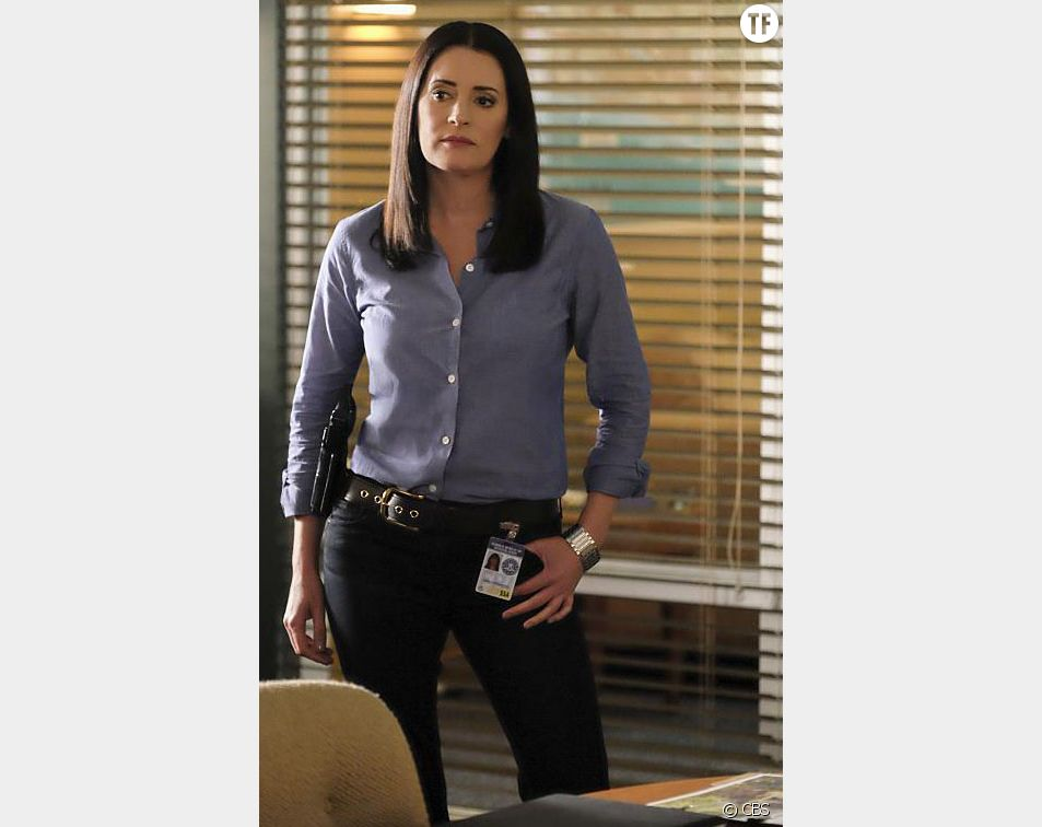 L'actrice Paget Brewster dans la série Esprits criminels