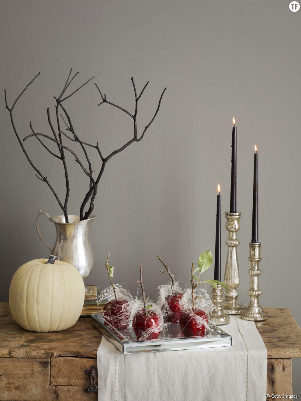 Id es de d co de table pour halloween for Decoration de table pour halloween
