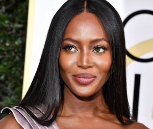 La belle Naomi Campbell et son maquillage naturel