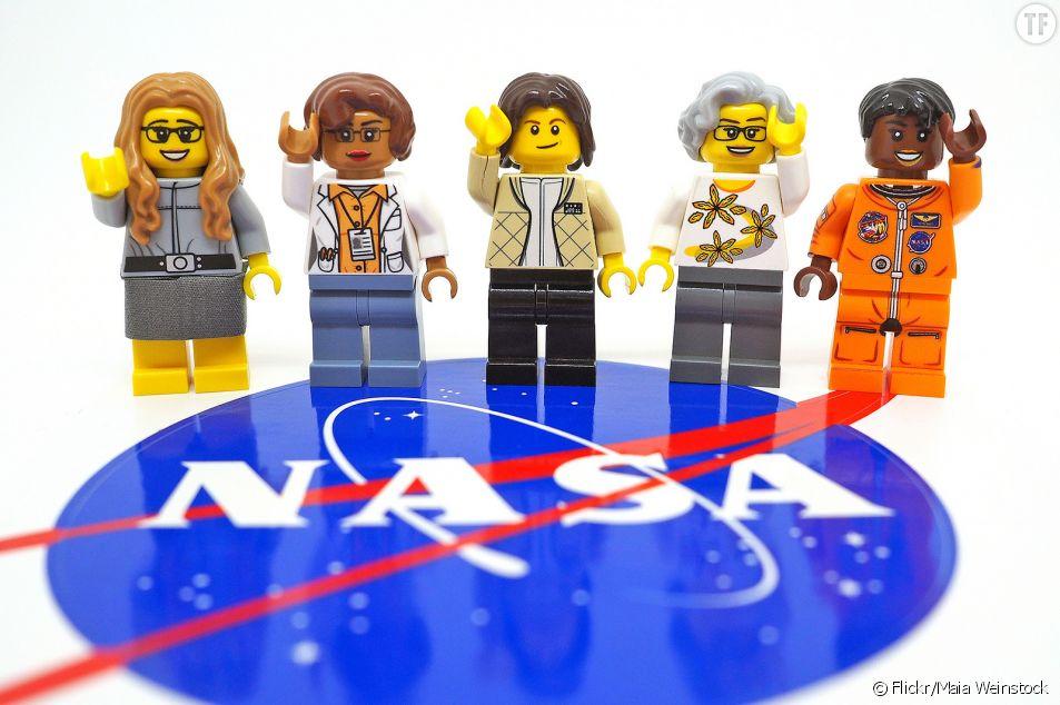 Lego rend hommage à cinq femmes scientifiques de la Nasa