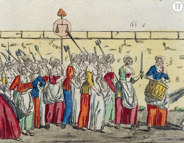 La marche des Parisiennes vers Versailles