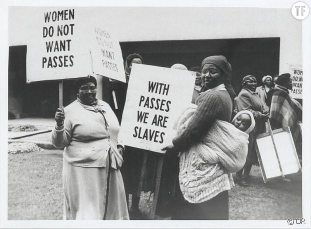 La marche des femmes en Afrique du Sud