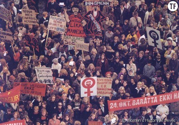 La grève des femmes en Islande