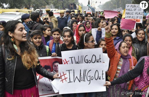 La marche des femmes en Inde contre les violences sexuelles