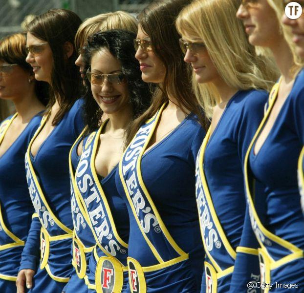 """Les """"grid girls"""" au départ des courses Formule 1 vont disparaître"""