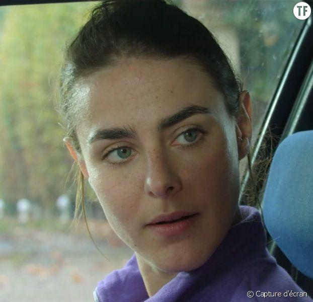 """Marion Séclin dans le court-métrage """"Je suis un imposteur"""""""