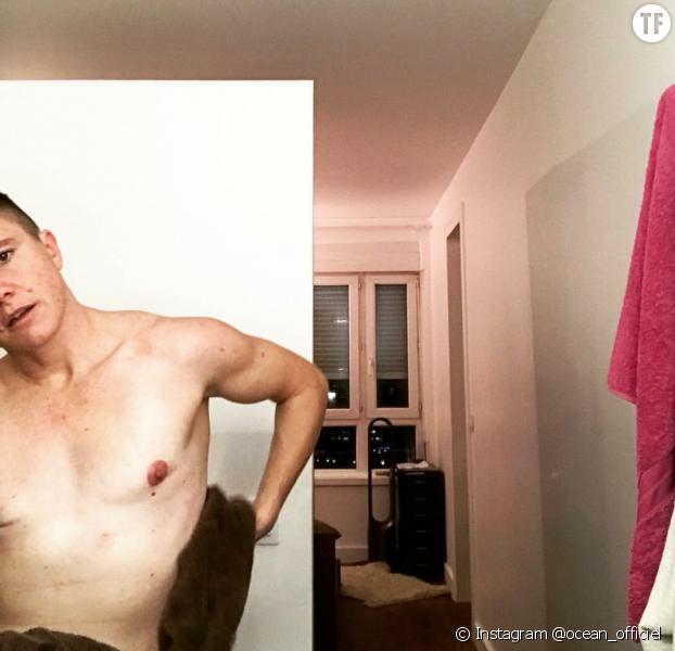 Le comédien Océan dénonce la censure des tétons sur Instagram