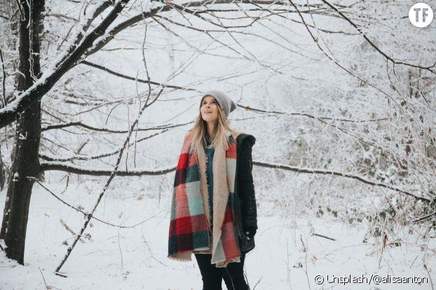 Se balader en forêt l'hiver