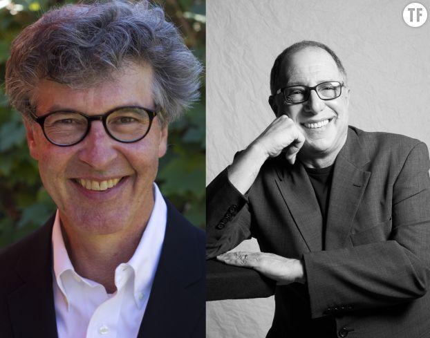 Michael Kaufman à gauche et Michael Kimmel à droite, les auteurs du Guide du féminisme pour les hommes et par les hommes