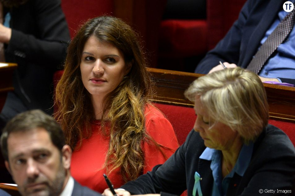 La secrétaire d'Etat à l'Egalité entre les femmes et les hommes Marlène Schiapa