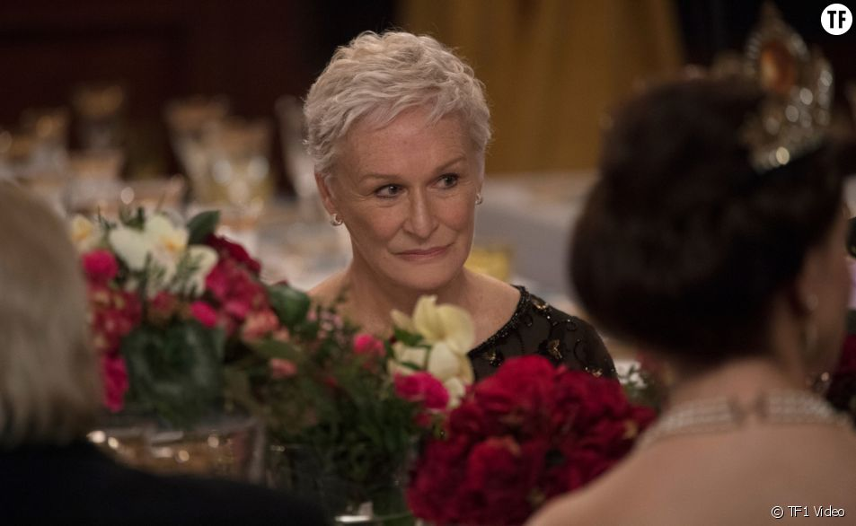 L'actrice Glenn Close dans The Wife de Björn Runge