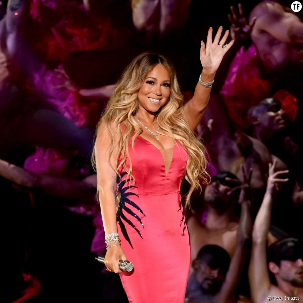 Mariah Carey en octobre 2018