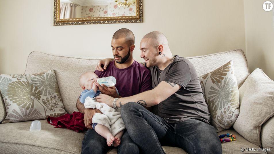 Familles homoparentales : les papas s'en sortent aussi bien que les autres