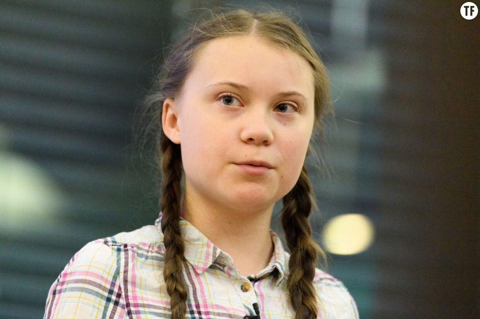 La jeune militante Greta Thunberg agace les plus réacs. Getty Images.