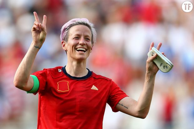 Megan Rapinoe. Getty Images.