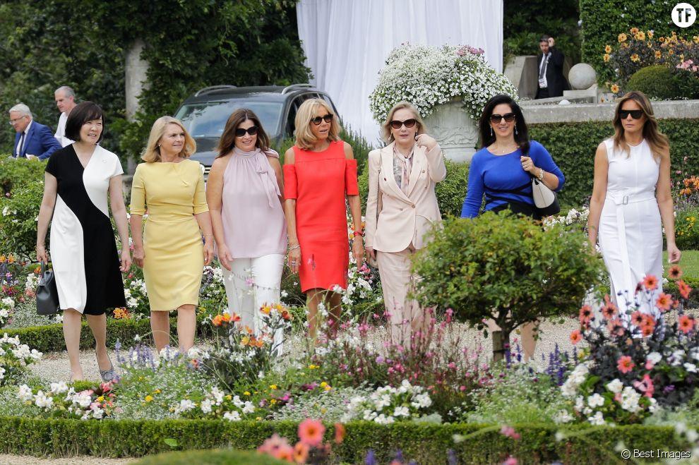 Durant ce sommet, les Premières dames se sont rendues à Espelette.