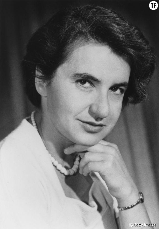 Rosalind Franklin, à l'origine de l'ADN.