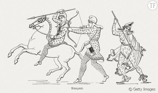 """Les Amazones, figures fières et """"empouvoirantes""""."""