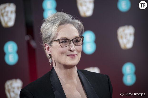 """Meryl Streep, malheureuse membre du club des """"actrices de plus de cinquante ans""""."""