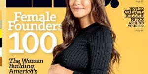 Audrey Gelman, première PDG enceinte en Une d'un magazine de business