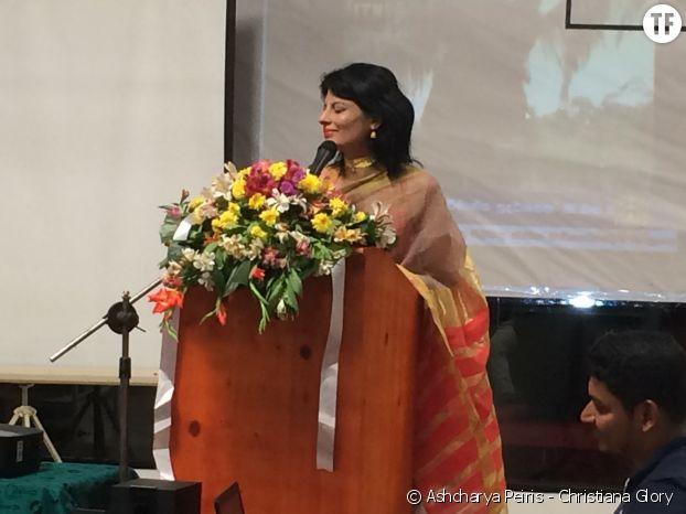 Ashcharya Peiris, l'une des cent femmes les plus inspirantes de l'année.