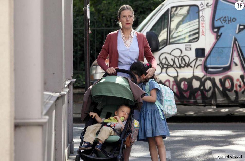 """Karin Viard en nounou dans le film """"Chanson douce"""""""