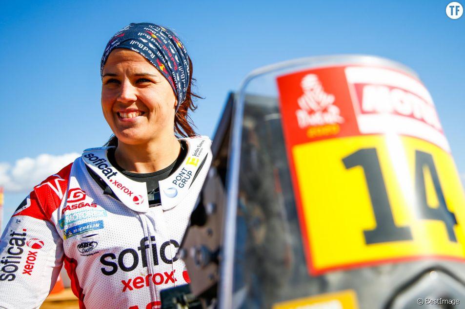 Pour la championne Laia Sanz, cette course est féministe...