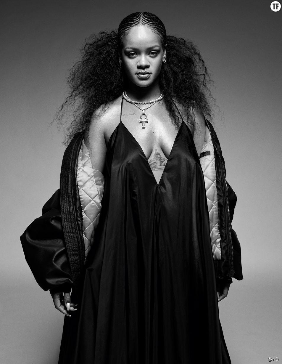 """Le """"Rihannazine"""" très attendu de la revue de mode i-D."""
