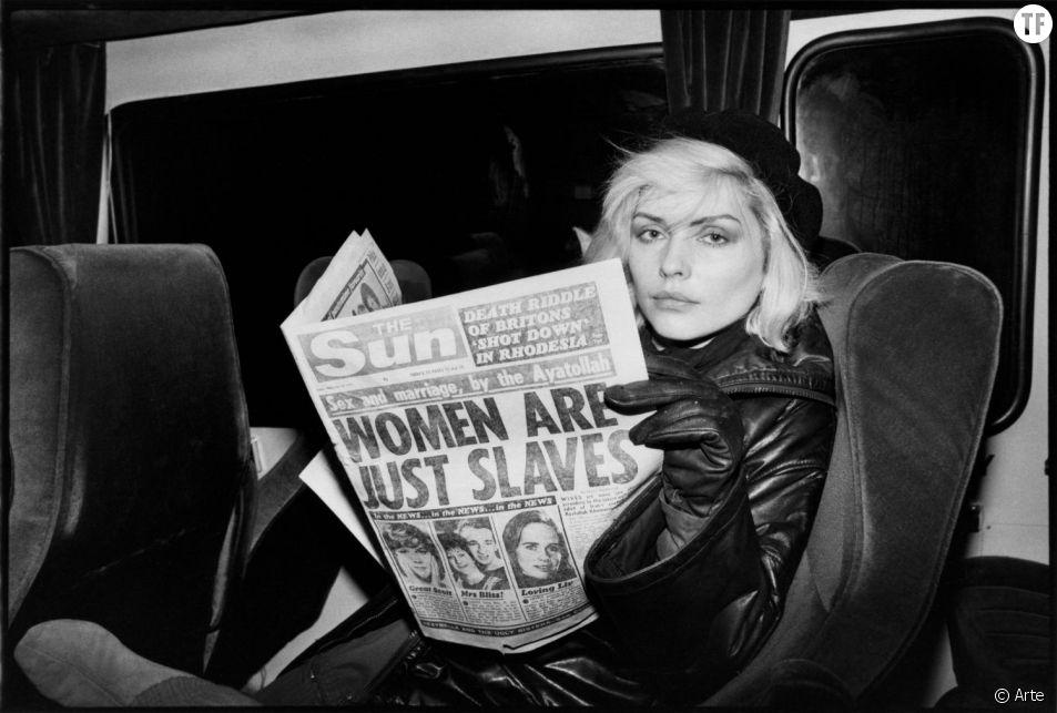 Debbie Harry, la chanteuse de Blondie