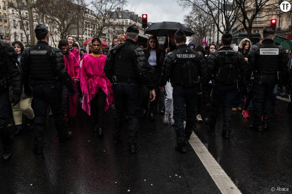 Marche féministe du 8 mars 2020 à Paris